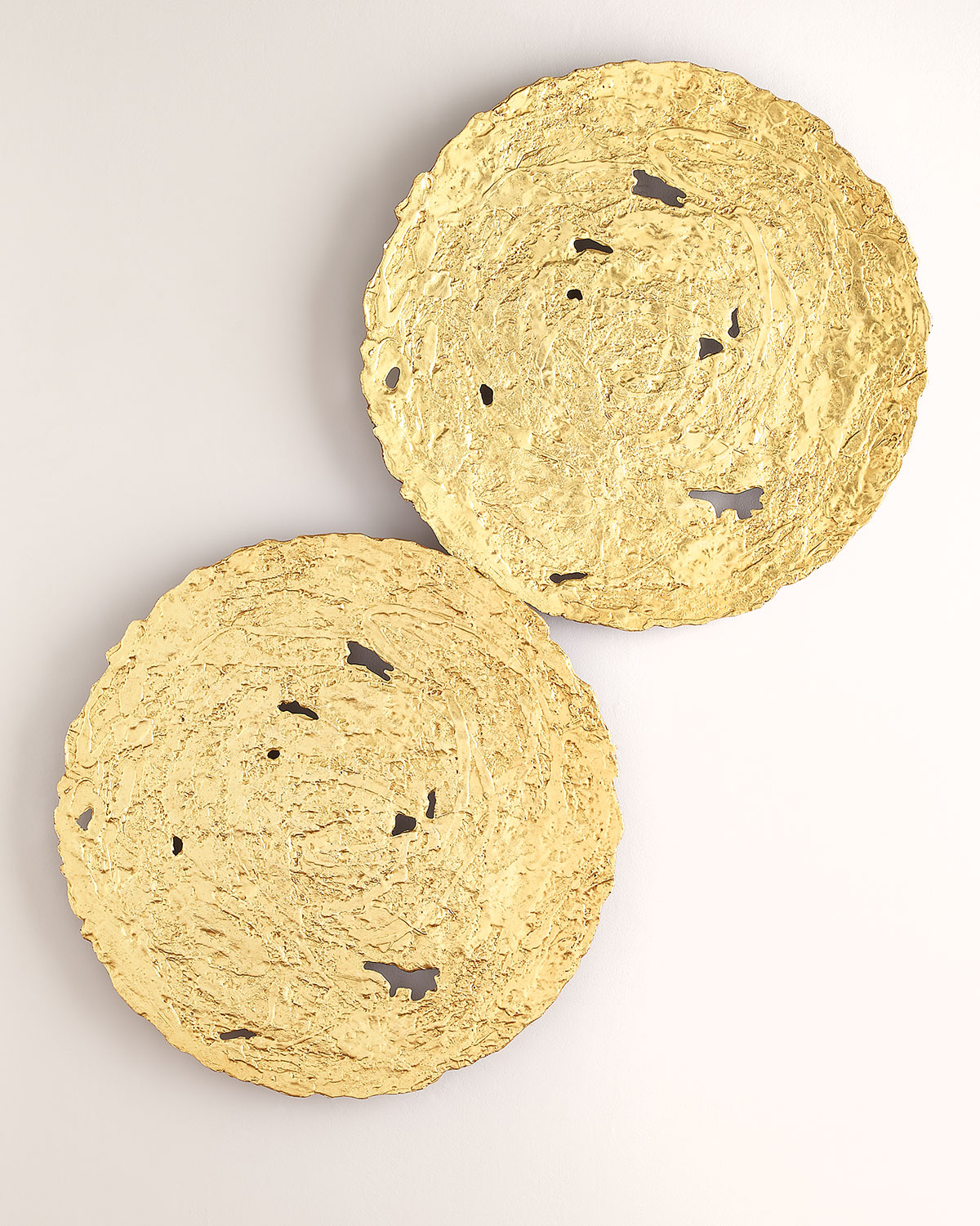 The Phillips Collection Medium Gold Circle Wall Decor | Neiman Marcus