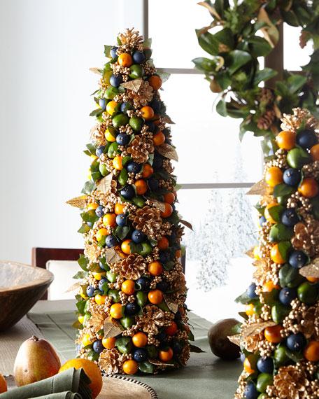 "Autumn Beauty Tabletop Christmas Tree - 24"""
