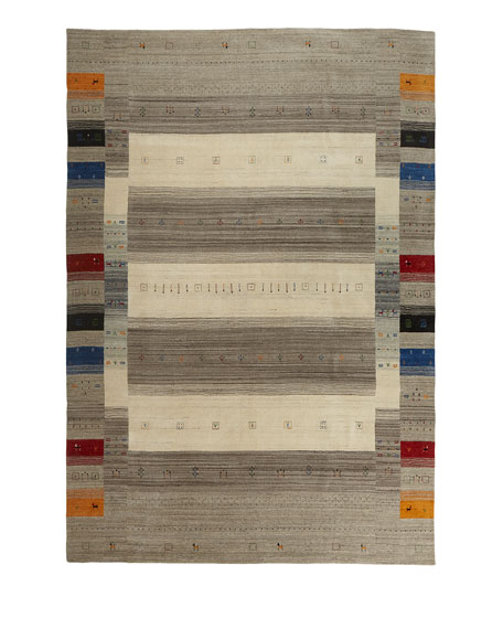 Aviane Hand-Loomed Rug, 6' x 9'