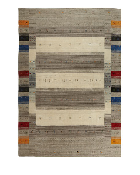 Aviane Hand-Loomed Rug, 9' x 12'