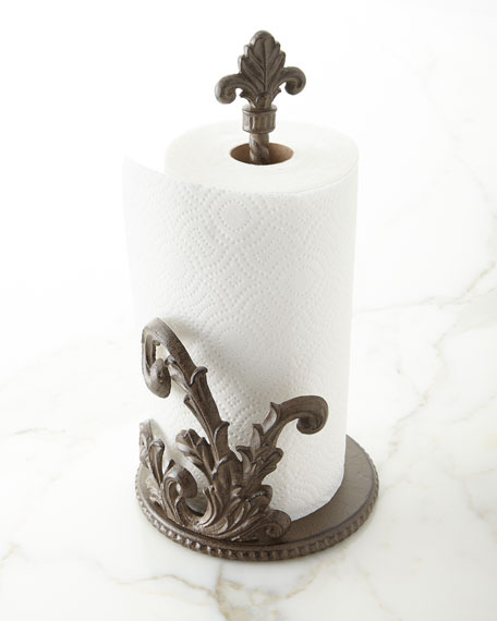 G G Collection Acanthus Jumbo Paper Towel Holder