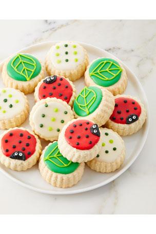 Le Gourmet Baking Ladybug Shortbread Cookies