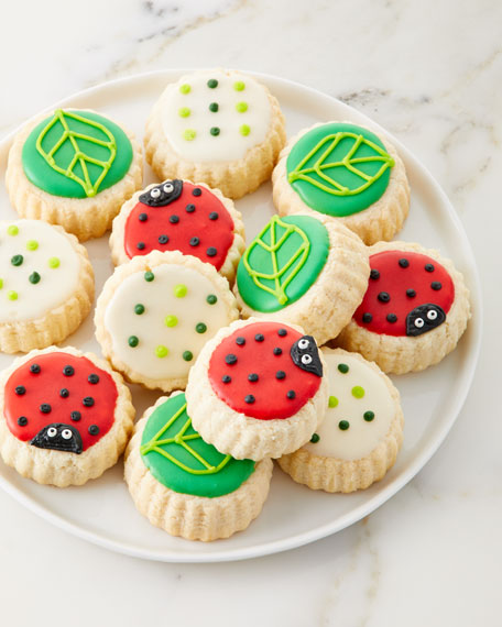 Le Gourmet Valet Ladybug Shortbread Cookies