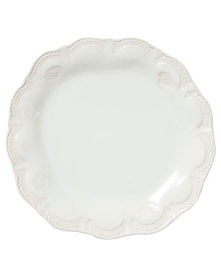 Incanto Stone Lace Dinner Plate, Linen