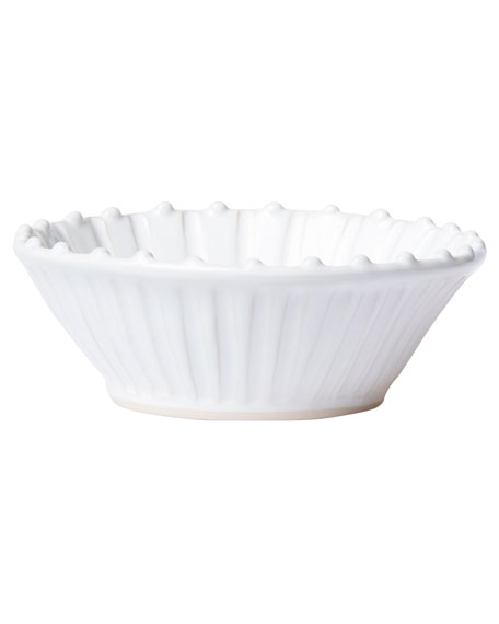 Incanto Stone Stripe Cereal Bowl, White