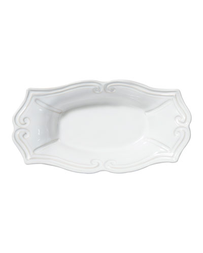Incanto Stone Baroque Medium Au Gratin, White