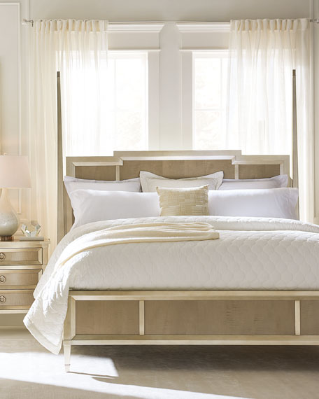 caracole Jasmine California King Post Bed and Matching