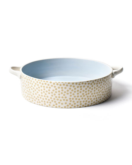Coton Colors Neutral Nouveau Round Casseroles, Set of