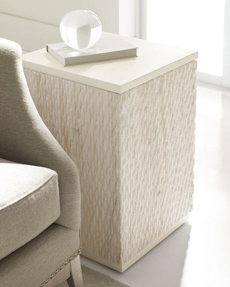 Sinda Marble-Top Side Table