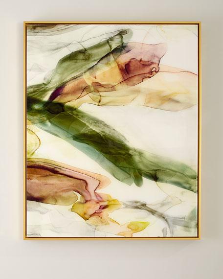 """Sylvan Dwelling"" Giclee on Canvas Framed Art, 50"" x 40"""