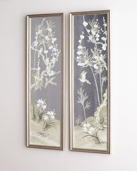 Antique Screen Diptych II