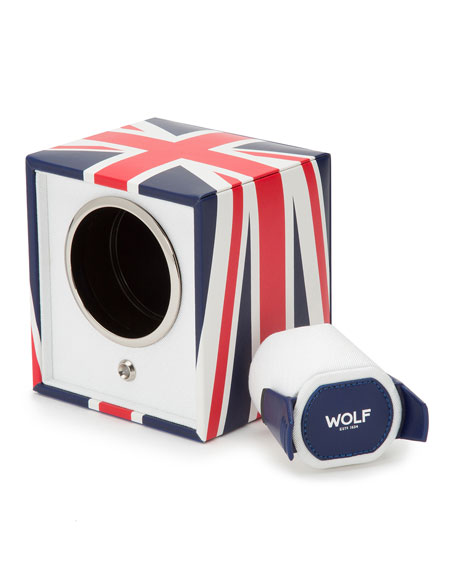 The Special Edition Union Jack Navigator Cub Single Watch Winder