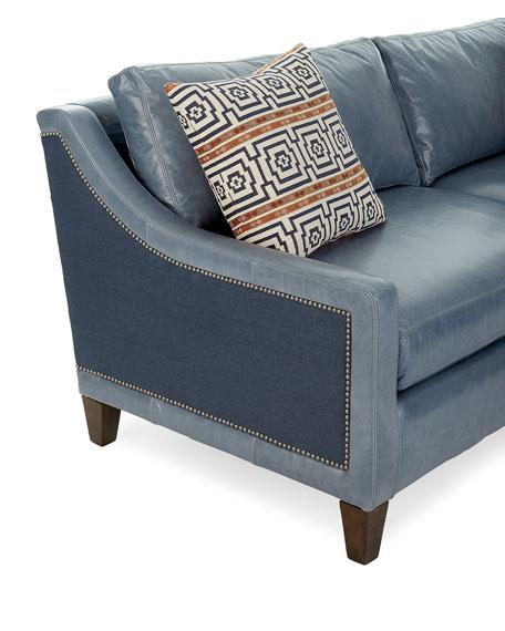 Jaylin Leather Sofa