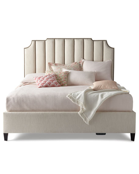 Bayonne Channel Tufted Queen Bed