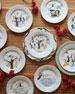 Twelve Days of Christmas Dessert/Salad Plate