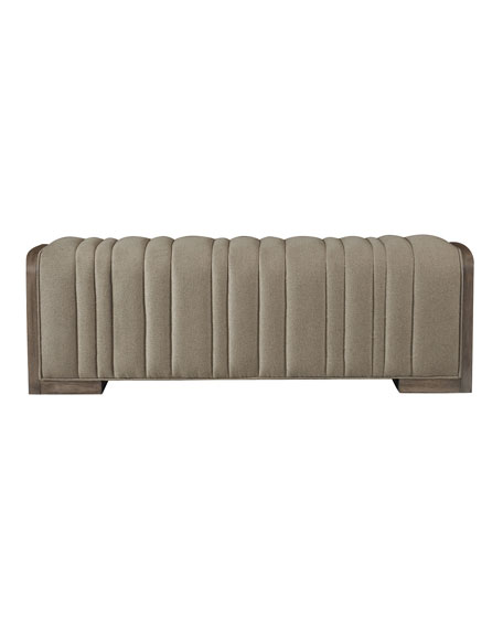 Profile Channel-Tufted Bench