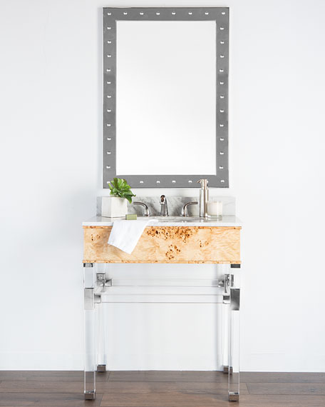 Hodges Marble-Top Bath Vanity with Sink