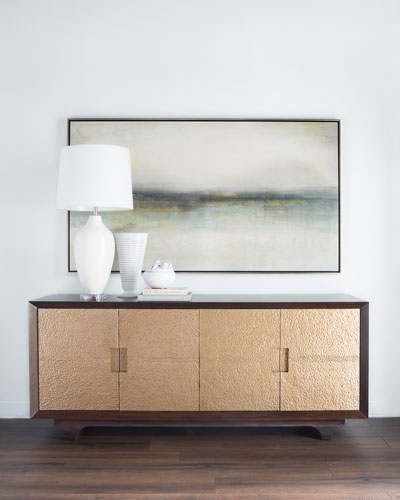 Amunet Gold Hammered Console