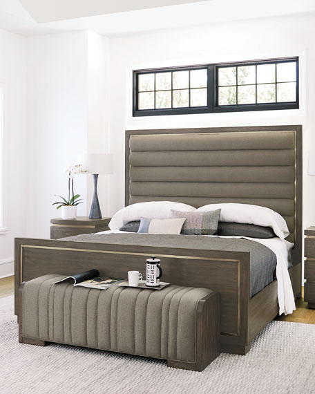 Profile Channel Tufted King Bed