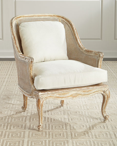 Charmant Cane Back Bergere Armchair