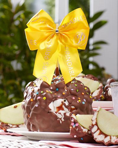 Milk Chocolate Marshmallow Easter Jumbo Caramel Apple