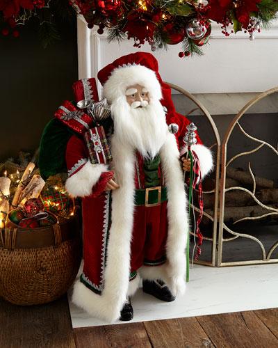 Classic Handmade Christmas Santa, 36