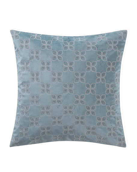 "Molani Velvet Decorative Pillow, 18""Sq."