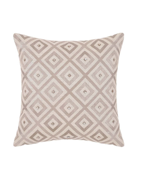 "Avalon Decorative Pillow, 18""Sq."