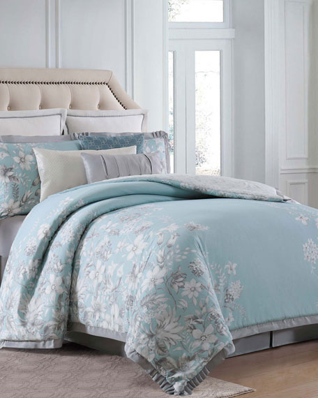 Molani 4-Piece California King Duvet Cover Set