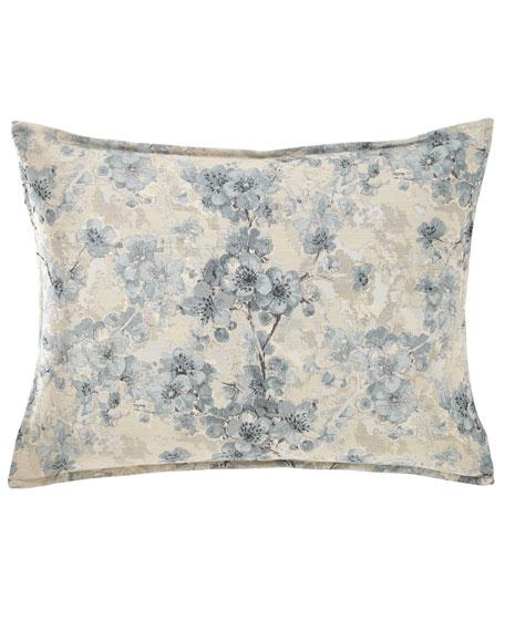 Fino Lino Linen & Lace Blossom Standard Sham