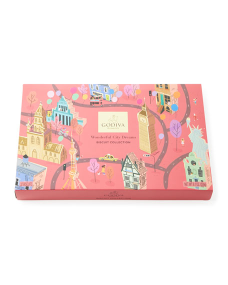 Wonderful City of Dreams 32-Piece Biscuit Collection