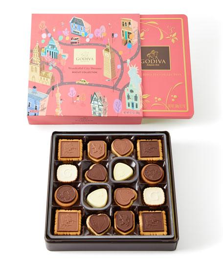 Wonderful City of Dreams 46-Piece Biscuit Collection