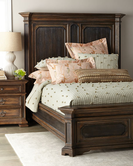 Hooker Furniture Casella King Mansion Bed and Matching