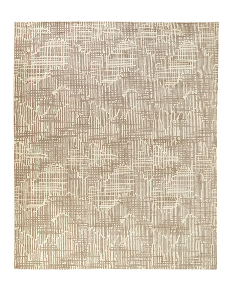 Justine Loom-Knotted Runner, 2.5' x 8'