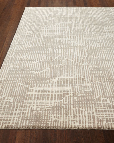 Justine Loom-Knotted Rug, 5' x 8'