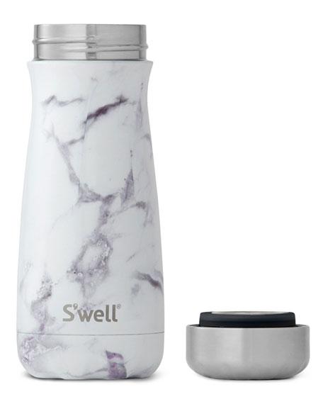 White Marble Traveler 16-oz. Reusable Bottle