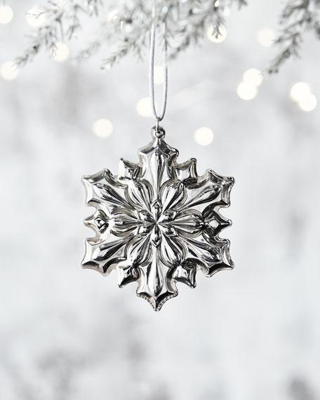 Gorham 2018 Gorham Sterling Silver Snowflake Ornament -