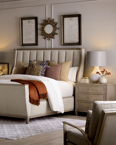East Abbott Channel Tufted California King Bed