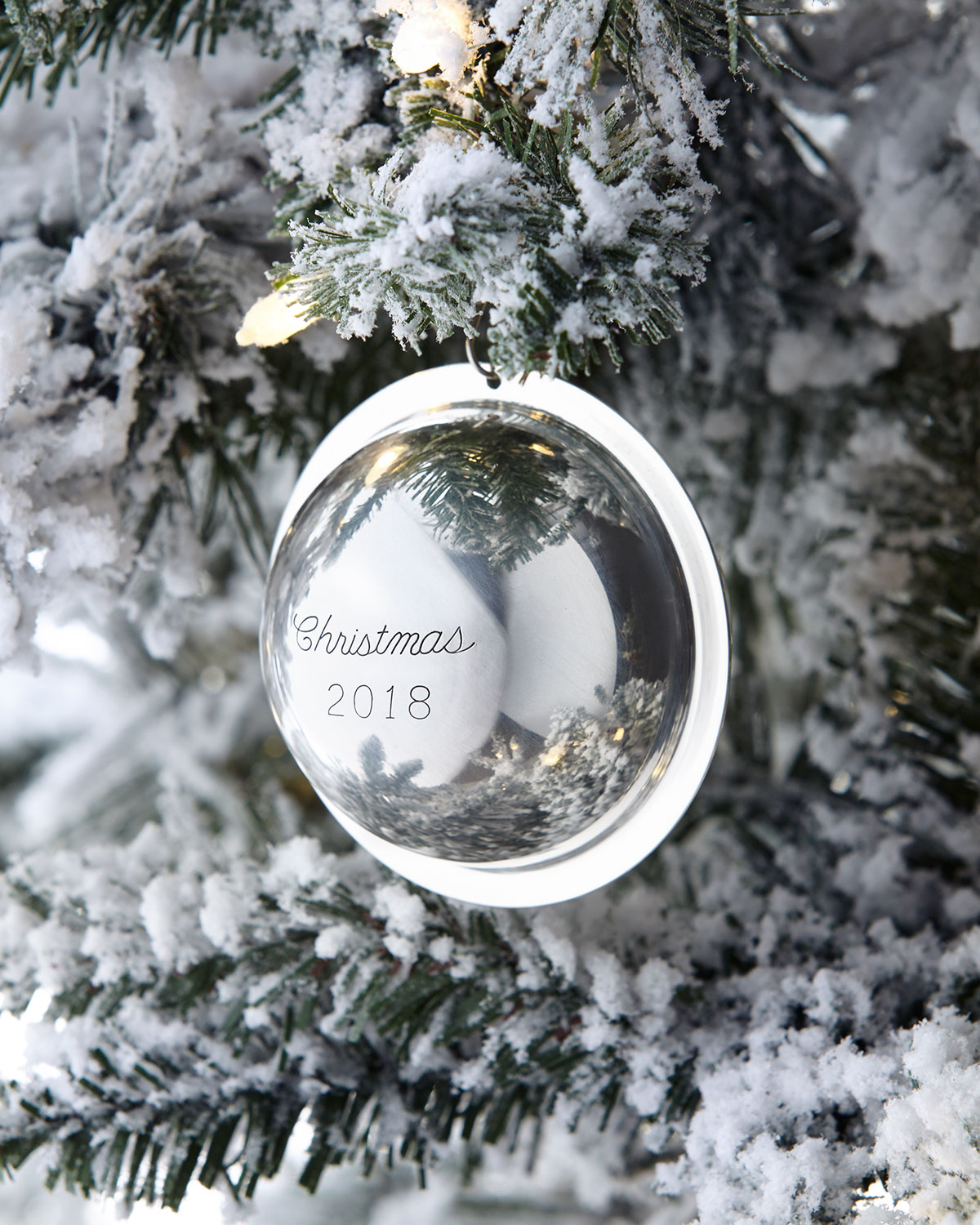Wedding Gift Stores Nyc: J T Inman Co 2018 Annual-Edition Sterling Silver Christmas