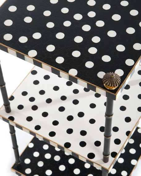 Dot Three-Tier Table