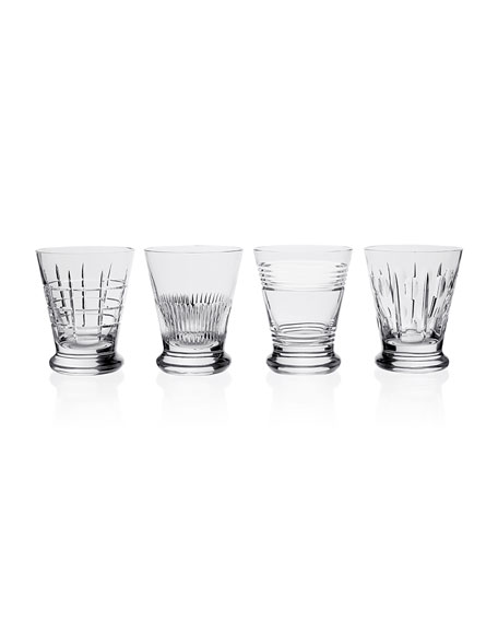 Kismet Whiskey Tumblers, Set of Four