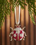 Joanna Buchanan Ladybug Hanging  Christmas Ornament