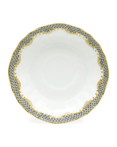 Herend Fishscale Salad Plate and Matching Items &