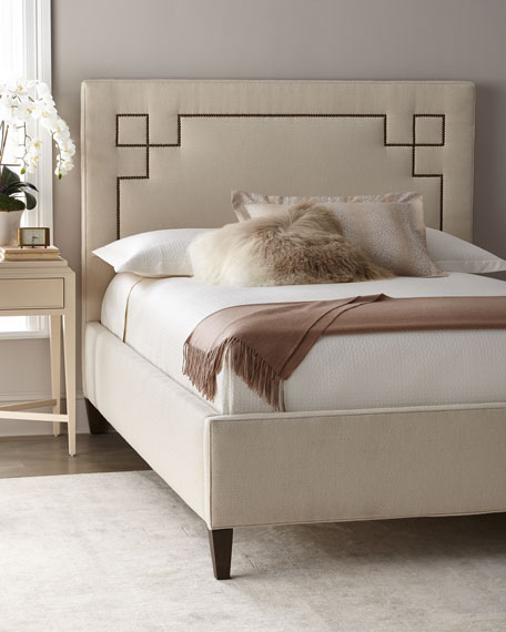 Gavin Upholstered King Bed and Matching Items &