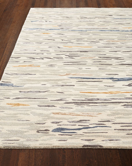 Henri Hand-Tufted Rug, 6' x 9' and Matching