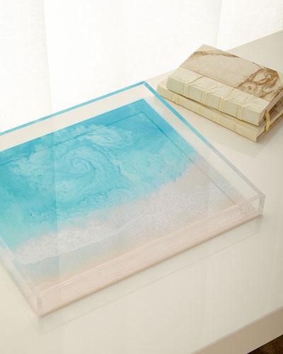 The Hawaii Swirl Decorative Tray