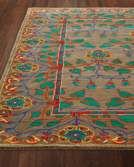 Alonso Hand-Tufted Rug, 3.9' x 5.9'