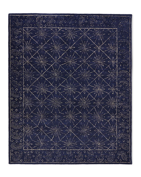 Stephano Hand-Tufted Rug, 5' x 7.6'