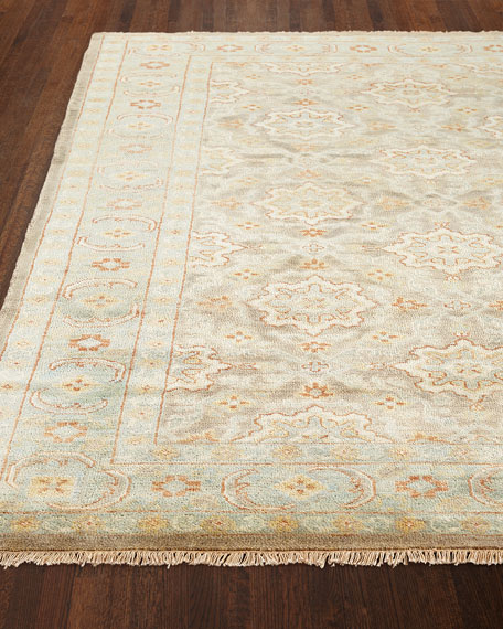 "Sebastian Hand-Knotted Rug, 7'9"" x 9'9"""