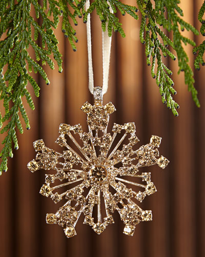 Snowflake Hanging  Christmas Ornament